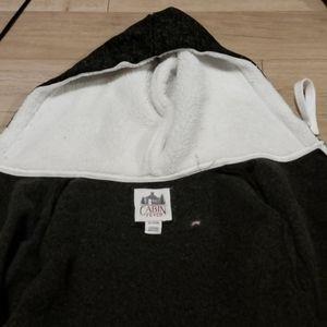 Cabin Fever XL zip up Sweater